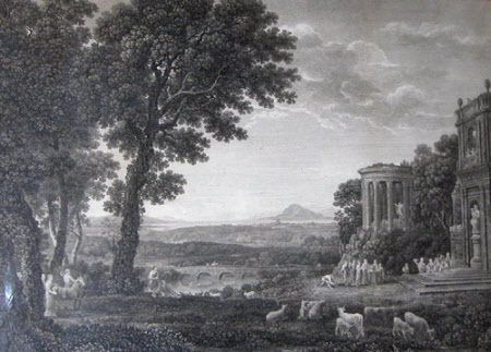 The Temple of Apollo (after Claude Lorrain)
