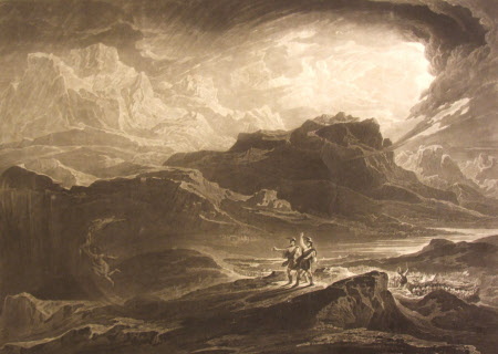 'Macbeth' from William Shakespeare's Macbeth (after John Martin)