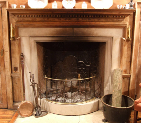 Chimneypiece, Dining Room, Owletts