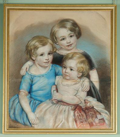 Three of the thirteen children of Richard Tudor