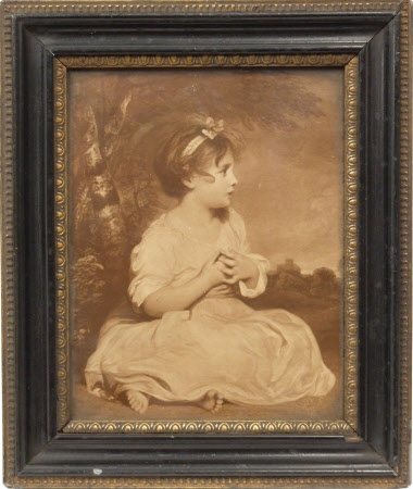 The Age of Innocence (after Sir Joshua Reynolds)