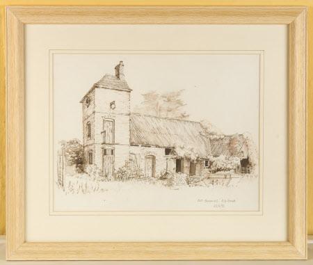 The Barn, A La Ronde, Devon