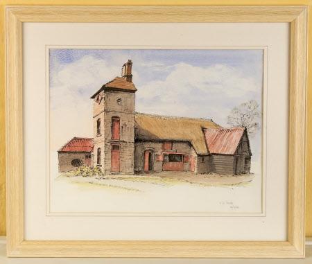 The Barn at A La Ronde, Devon