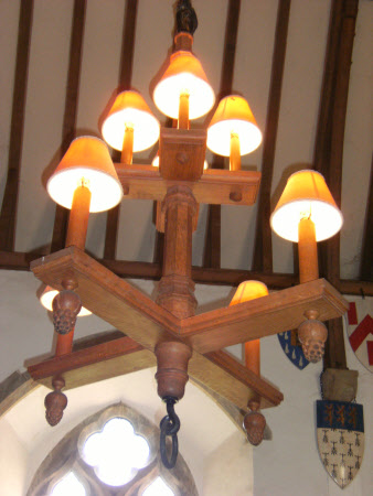 Candle beam