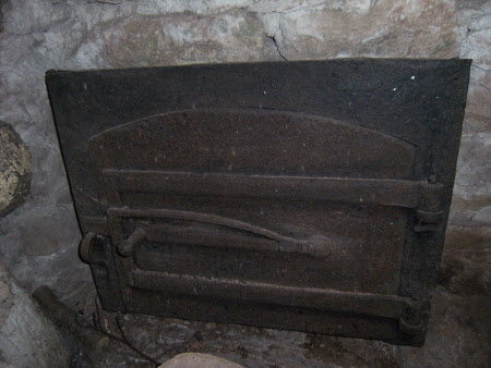 Oven door