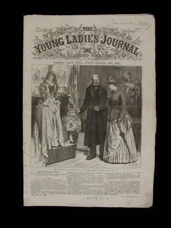 The Young Ladies Journal - December 1887