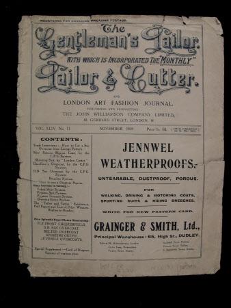 Gentlemen's Tailor - November 1909
