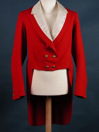 Man's evening tailcoat