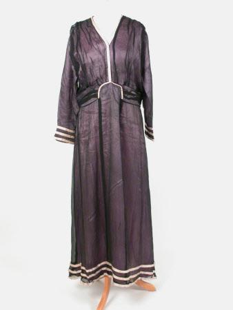 Half mourning dress