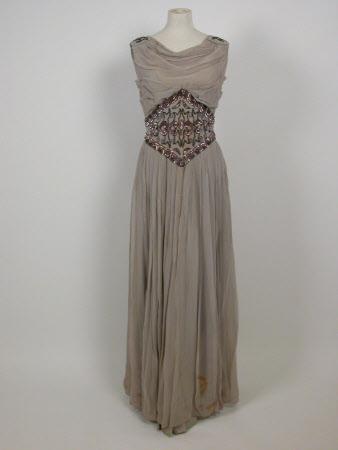 Evening dress part