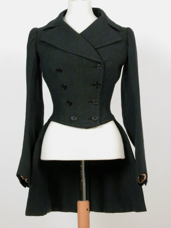 Lady's riding habit coat