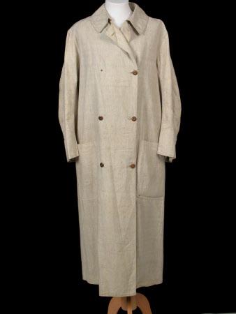 Man's motoring coat