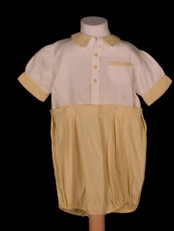 Boy's romper suit part