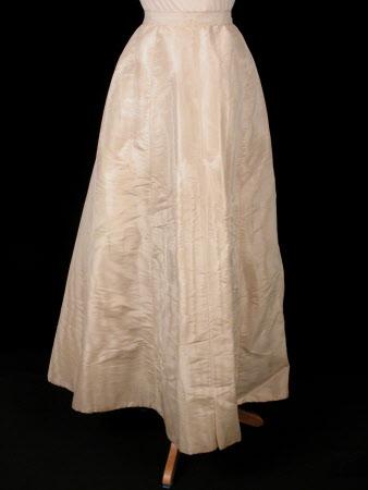 Wedding dress skirt