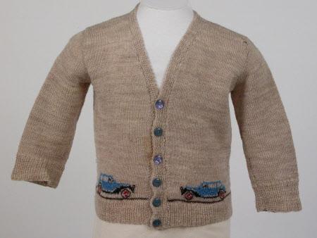 Boy's cardigan jacket