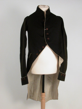 Man's mourning coat