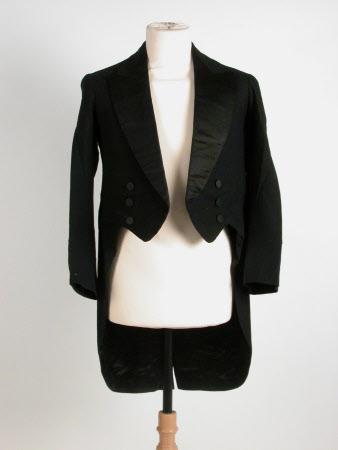 Man's suit tailcoat