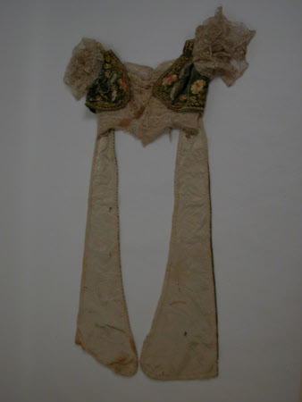 Dress bodice fragment