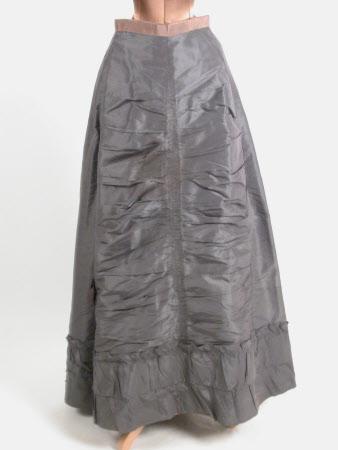 Afternoon dress skirt