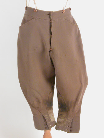 Man's riding breeches