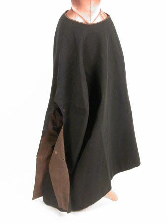 Lady's riding habit skirt