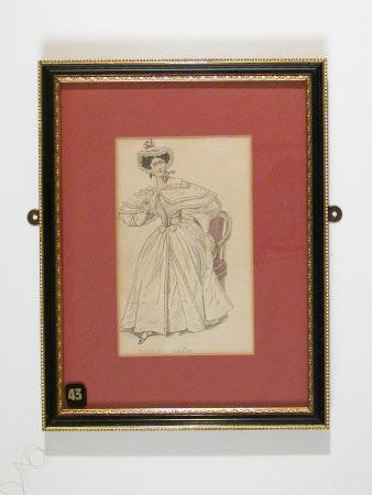 Morning dress, 1830