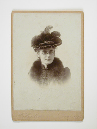 Unknown lady, c.1890