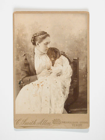 Unknown mother and baby, c.1890