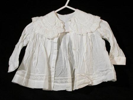 Baby's matinee jacket