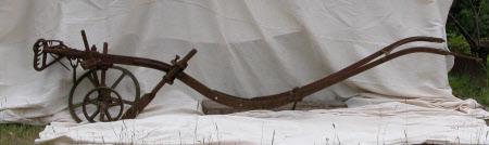 Horse drawn plough