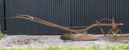Horse drawn competition plough