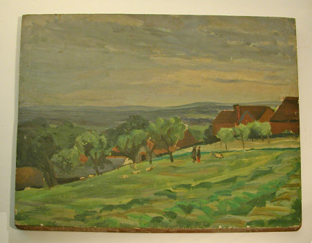 Landscape with Chartwell