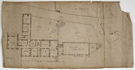 Plan of the White Hart Inn at Buxton