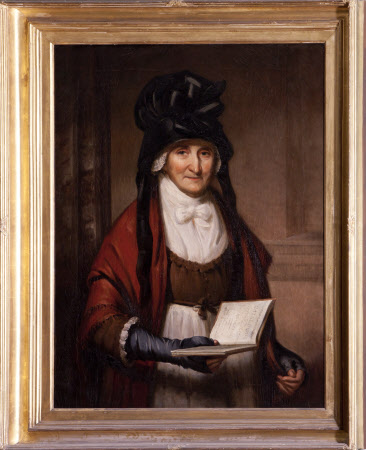 Mrs Mary Garnett (1724-1809) in the Marble Hall