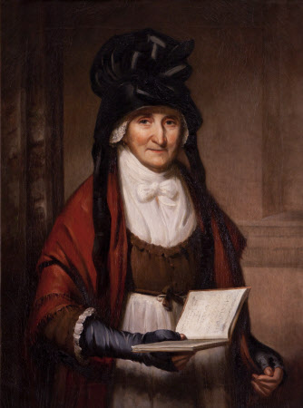 Mrs Mary Garnett (1724-1809) in the Marble Hall