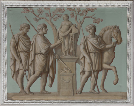 Sacrifice to Apollo (from the Arch of Constantine)