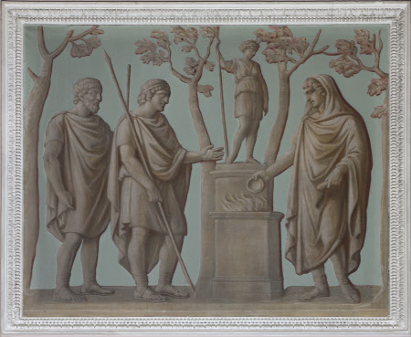 Sacrifice to Diana (from the Arch of Constantine)
