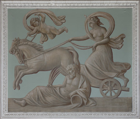Diana (Selene) riding her Chariot (from the Arch of Constantine)