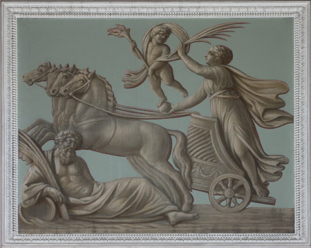 Aurora riding her Chariot (from the Arch of Constantine)