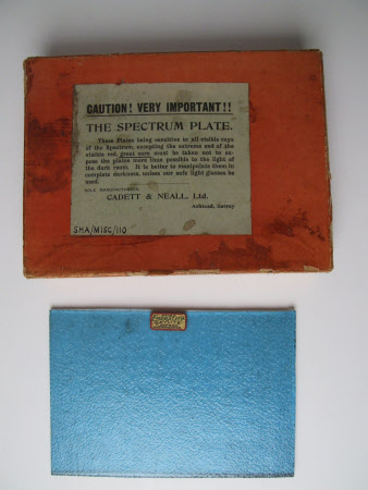 Photographic plate box