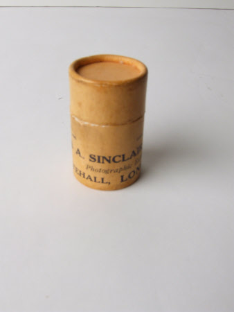 Photographic film canister