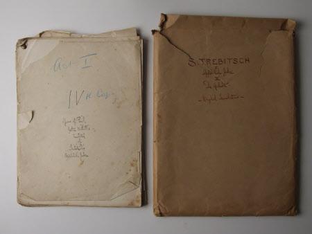 """Years of Peril / Jethro Bithell's translation of Trebitsch's Gefahrliche Jahre"""