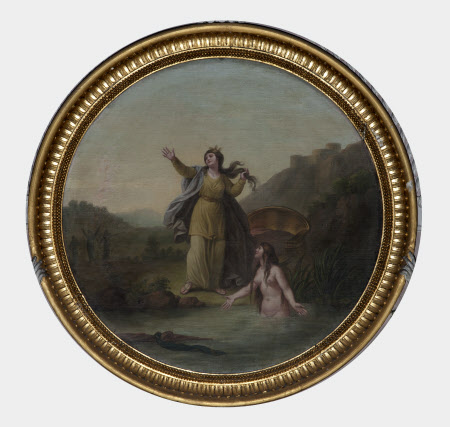 Diana and Arethusa (after Hubert Gravelot)