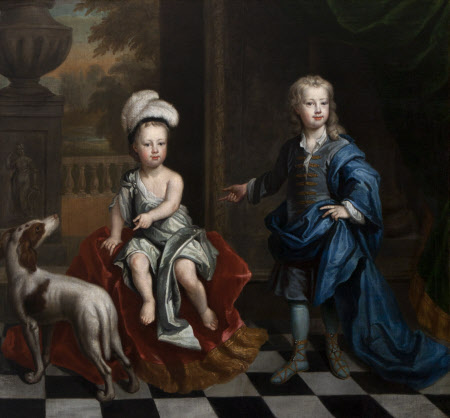 David Colyear, Viscount Milsington (1698-1728/9) and his Brother Charles Colyear, 2nd Earl of ...