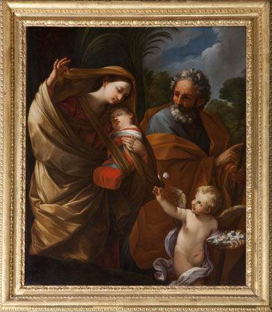 The Flight into Egypt (after Reni)