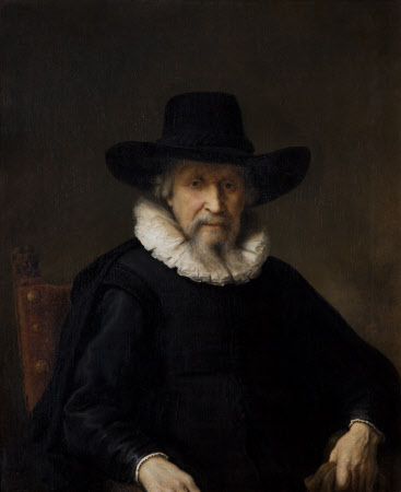 Head of an Old Man (possibly Ephraim Bonus, or Bueno [1599-1665])