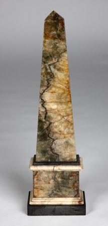 A Blue John obelisk
