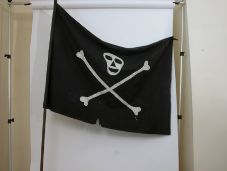 Stage prop flag