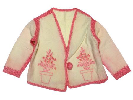 Child's bed jacket