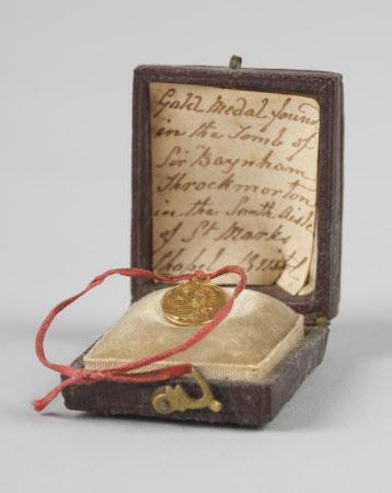 Gold Medallion of King Charles I (1600-1649)